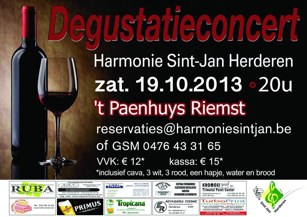 Degustatie Concert 19/10